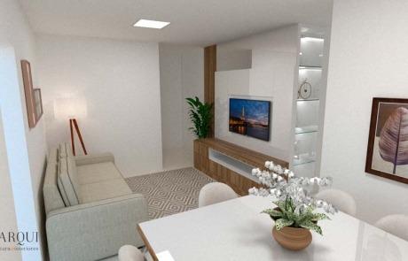 Design de Interiores Apartamento Pequeno